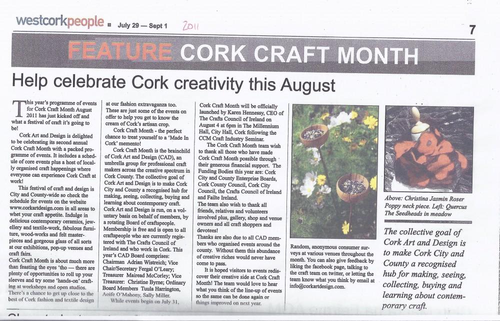 West Cork People July-Sept 2011